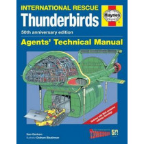 Thunderbirds Manual 50th Anniversary Edition: TB1-TB5, Tracy Island and associated vehicles by Graham Bleathman, 9780857338235