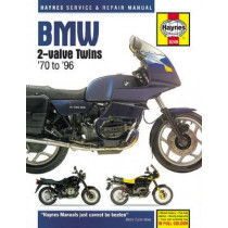 BMW 2-Valve Twins by Haynes Publishing, 9780857339027