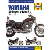 Yamaha XV (Virago) V-Twins (81 - 03) by Haynes Publishing, 9780857339034