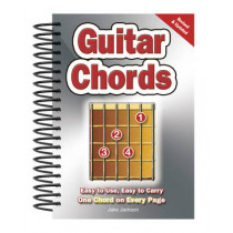 Guitar Chords: Easy-to-Use, Easy-to-Carry, One Chord on Every Page by Jake Jackson, 9780857752635