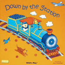 Down by the Station by Jess Stockham, 9780859531405