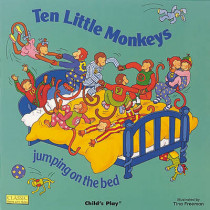 Ten Little Monkeys Jumping on the Bed by Tina Freeman, 9780859537988
