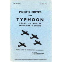 Air Ministry Pilot's Notes: Hawker Typhoon IA and IB by Air Ministry, 9780859790338