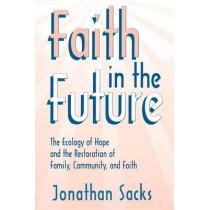 Faith in the Future by Jonathan Sacks, 9780865545502