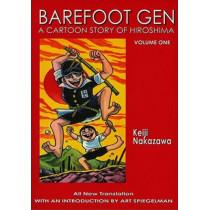 Barefoot Gen #1: A Cartoon Story Of Hiroshima by Nakazawa Keiji, 9780867196023