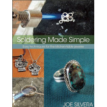 Soldering Made Simple: Easy techniques for the kitchen-table jeweler by Joe Silvera, 9780871164063