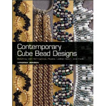 Contemporary Cube Bead Designs: Stitching with Herringbone, Peyote, Ladder Stitch, and More by Virginia Jensen, 9780871164360