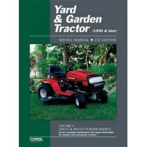 Yard & Garden Tractor Service by Haynes, 9780872887923