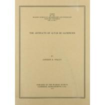 The Artifacts of Altar de Sacrificios by Gordon Randolph Willey, 9780873651837