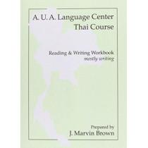 Thai Writing (Workbook) by AUA Language Center, 9780877275121