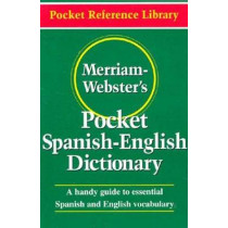 Merriam Webster's Pocket Spanish-English Dictionary by Merriam-Webster, 9780877795193