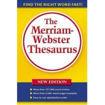 Merriam-Webster Thesaurus by Merriam-Webster, 9780877796374