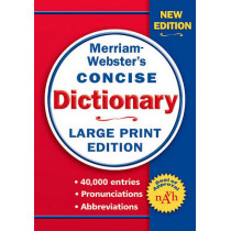 Merriam-Webster's Concise Dictionary by Merriam-Webster Inc., 9780877796442