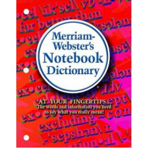 Note Book Dictionary by Merriam-Webster, 9780877796503