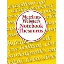Merriam-Webster's Notebook Thesaurus by Inc Merriam-Webster, Inc., 9780877796718