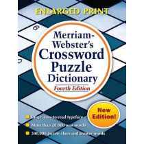 Merriam Webster's Crossword Puzzle Dictionary by Merriam-Webster, 9780877797340