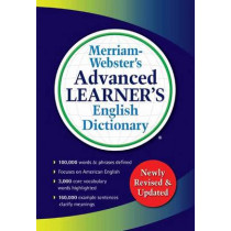 Merriam-Webster s Advanced Learner's English Dictionary by Merriam-Webster, 9780877797364