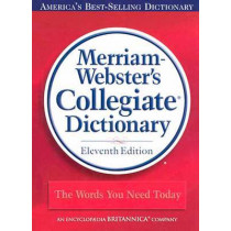 11th Collegiate Dictionary by Merriam-Webster, 9780877798071