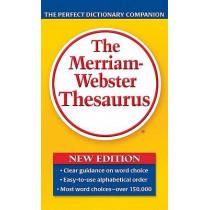 Merriam-Webster Thesaurus by Merriam-Webster, 9780877798507