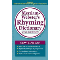 Merriam-Webster's Rhyming Dictionary by Merriam-Webster, 9780877798545