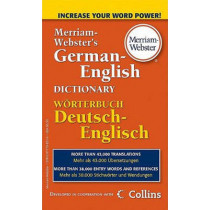 M-W German-English Dictionary by Merriam-Webster, 9780877798576