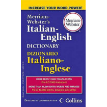 M-W Italian-English Dictionary by Merriam-Webster, 9780877798583