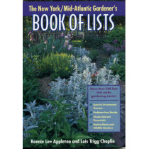 New York/Mid-Atlantic Gardener's Book of Lists by Bonnie Lee Appleton, 9780878332618