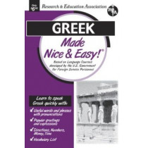 Nice & Easy Greek by Staff Of Rea, 9780878913701