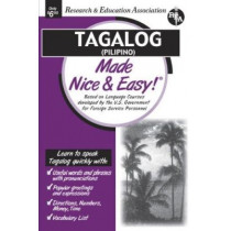 Tagalog (Filipino) Made Nice and Easy! by Staff Of Rea, 9780878913787