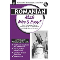 Nice & Easy Romanian by Staff Of Rea, 9780878914012
