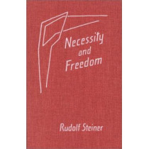 Necessity and Freedom: Five Lectures Given in Berlin Between January 25 and February 8, 1916 by Rudolf Steiner, 9780880102599