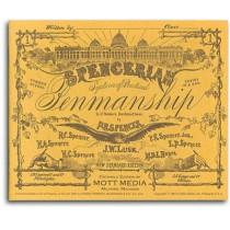 Spencerian Penmanship Copy Bk 1 by Mott Media, 9780880620833