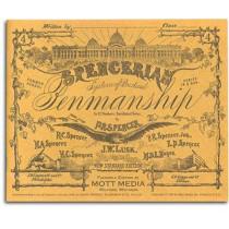 Spencerian Penmanship Copy Bk 4 by P R Spencer, 9780880620864
