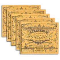 Spencerian Penmanship Set of 5 Copybooks by Platt R Spencer, 9780880620956