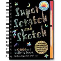 Super Scratch & Sketch by Keri Barbas, 9780880882866