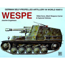 German Self-Prelled Artillery in WWII - Wespe: Wespe by Joachim Engelmann, 9780887404078