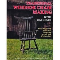 Traditional Windsor Chair Making with Jim Rendi by Jim Rendi, 9780887405037