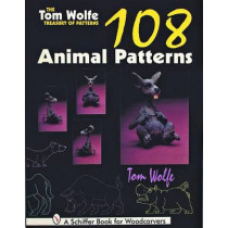 Tom Wolfe Treasury of Patterns: 108 Animal Patterns by Tom Wolfe, 9780887409622