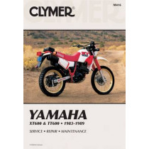 Yam Xt600 & Tt60 83-89 by E. Scott, 9780892875467