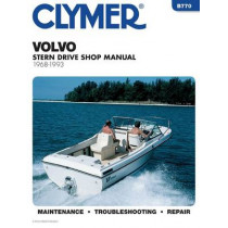 Evin/Jhnsn 2-300 Hp Ob 91-1993 by Clymer Publications, 9780892876389