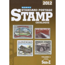 Scott Standard Postage Stamp Catalogue, Volume 6: Countries of the World San-Z by Charles Snee, 9780894874659