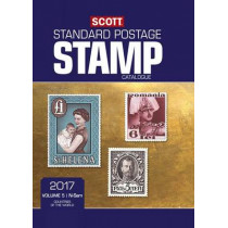 Scott 2017 Standard Postage Stamp Caatalogue, Volume 5: N-Sam: Countries of the World N-Sam by Scott Publishing Co, 9780894875113