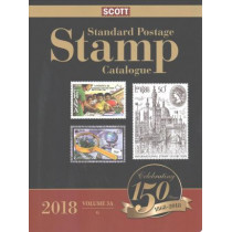 Scott 2018 Standard Postage Stamp Catalogue Volume 3: Countries of the World G-I: Scott 2018 Volume 3 Catalogue: G-I Countries of the World by Scott Publishing Co, 9780894875342
