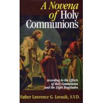 Novena of Holy Communions by Lovasik L, 9780895555199