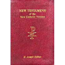 New American New Testament Bible by Catholic Book Publishing Corp, 9780899426518