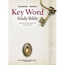 Hebrew-Greek Key Word Study Bible-NASB by Dr Spiros Zodhiates, 9780899577500