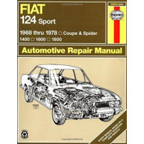 Fiat 124 Sport Coupe & Spider (68 - 78) by Adrian Sharp, 9780900550942