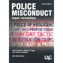 Police Misconduct: Legal Remedies by John Harrison, 9780905099910