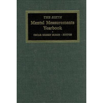 The Sixth Mental Measurements Yearbook by Buros Center for Testing, 9780910674065