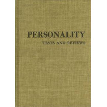 Personality Tests and Reviews I by Buros Center for Testing, 9780910674102